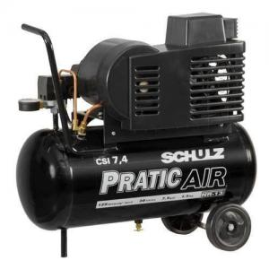 Compressor de Ar Pratic Air CSI 7,4/50 com rodas - 921.3509-0