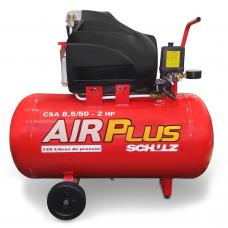 COMPRESSOR DE AR SCHULZ AIR PLUS CSA 8,5/50 - 110V - 915.0388-0