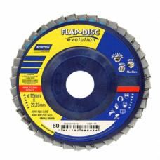 Lixa Flap-Disc Evolution PL R822 - R80 - 115x22mm - Norton